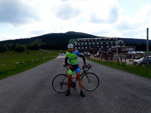 Bielawa i Karkonosze- Przełęcz Karkonoska i Modre Sedlo czyli ostatnie przygotowania do Tatra Road Race