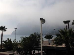 Pierwszy raz nie widziałem góry z rana ;)