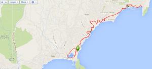 Calpe_2014_Dzien_7_Mapa