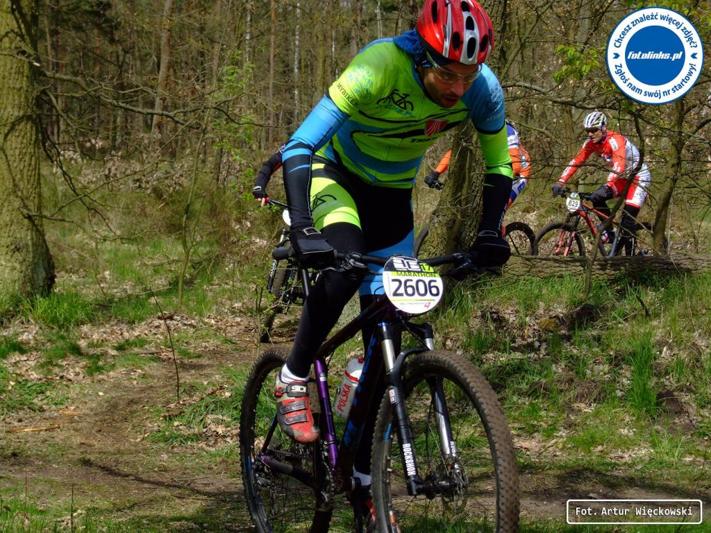 Poland Bike Marathon Legionowo - Karol Zduniak na trasie