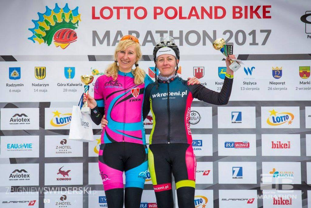 Poland Bike Marathon Legionowo - Ewa Bukat na podium na dystansie MAX (K4)