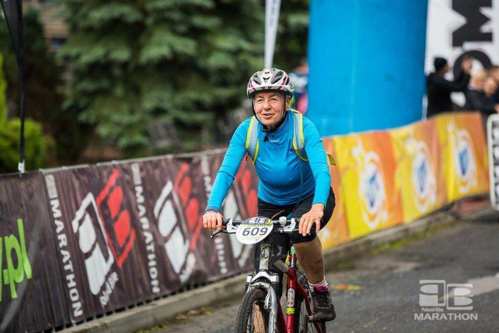 Ania Galeńska na Poland Bike w Wawrze