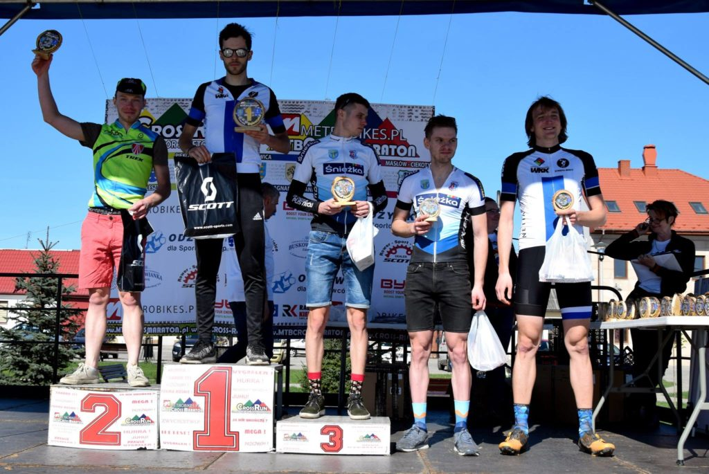 Mateusz na 2. miejscu podium - ŚLR Daleszyce