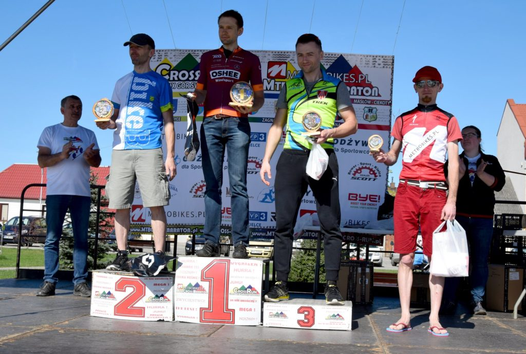 Piotr Berner na 3. miejscu podium - ŚLR Daleszyce