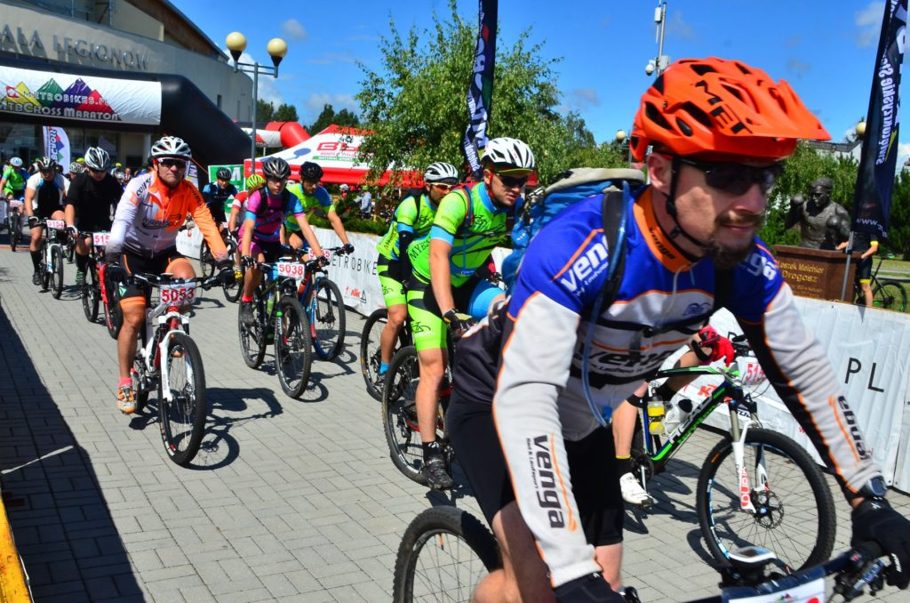 MTBCross Maraton w Kielcach - MyBike.pl MTB Team na starcie