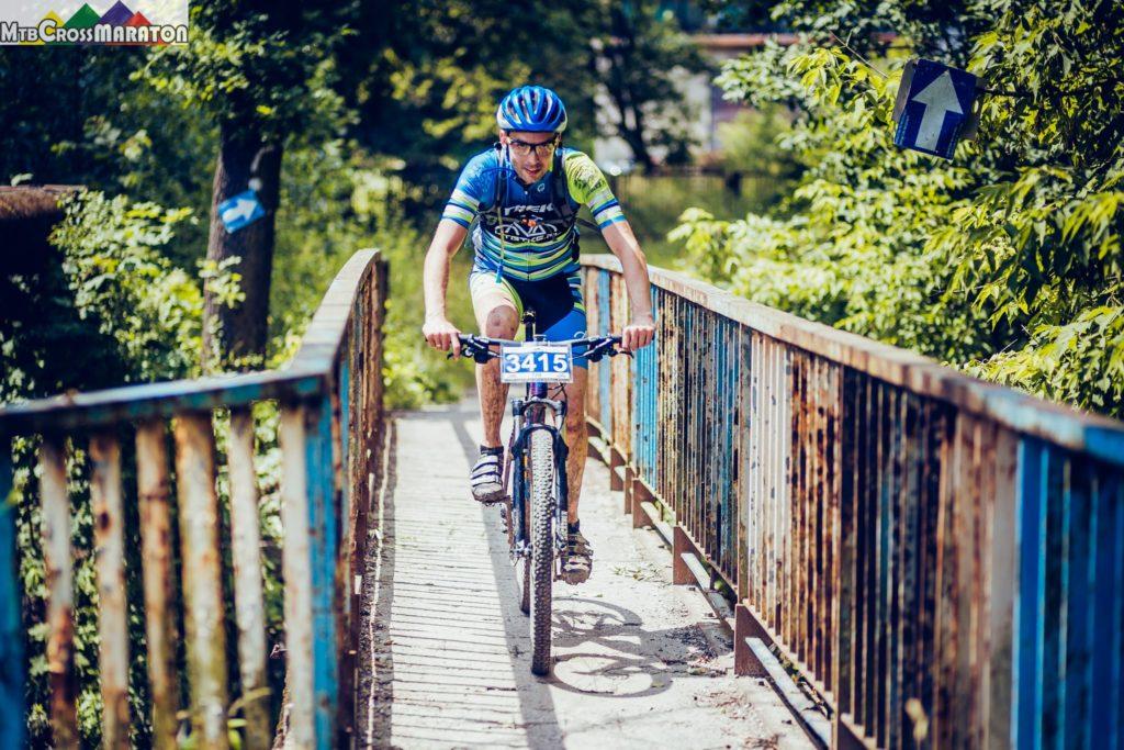 MTBcross Maraton Kielce - Karol na trasie